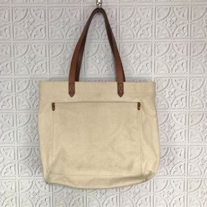 Madewell Bags - Madewell Canvas Transport Tote Bag